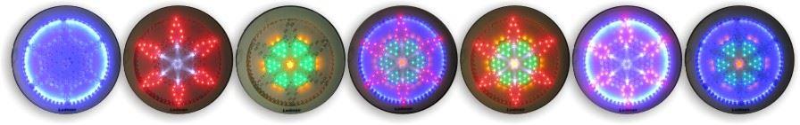 تصویر از چراغ LED دکوراتیو طرح گلبرگ