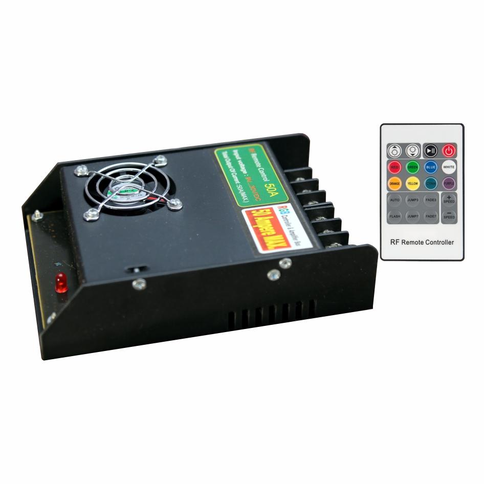 Picture of کنترلر RGB مدل  wireless (رادیوئی) 50 آمپر