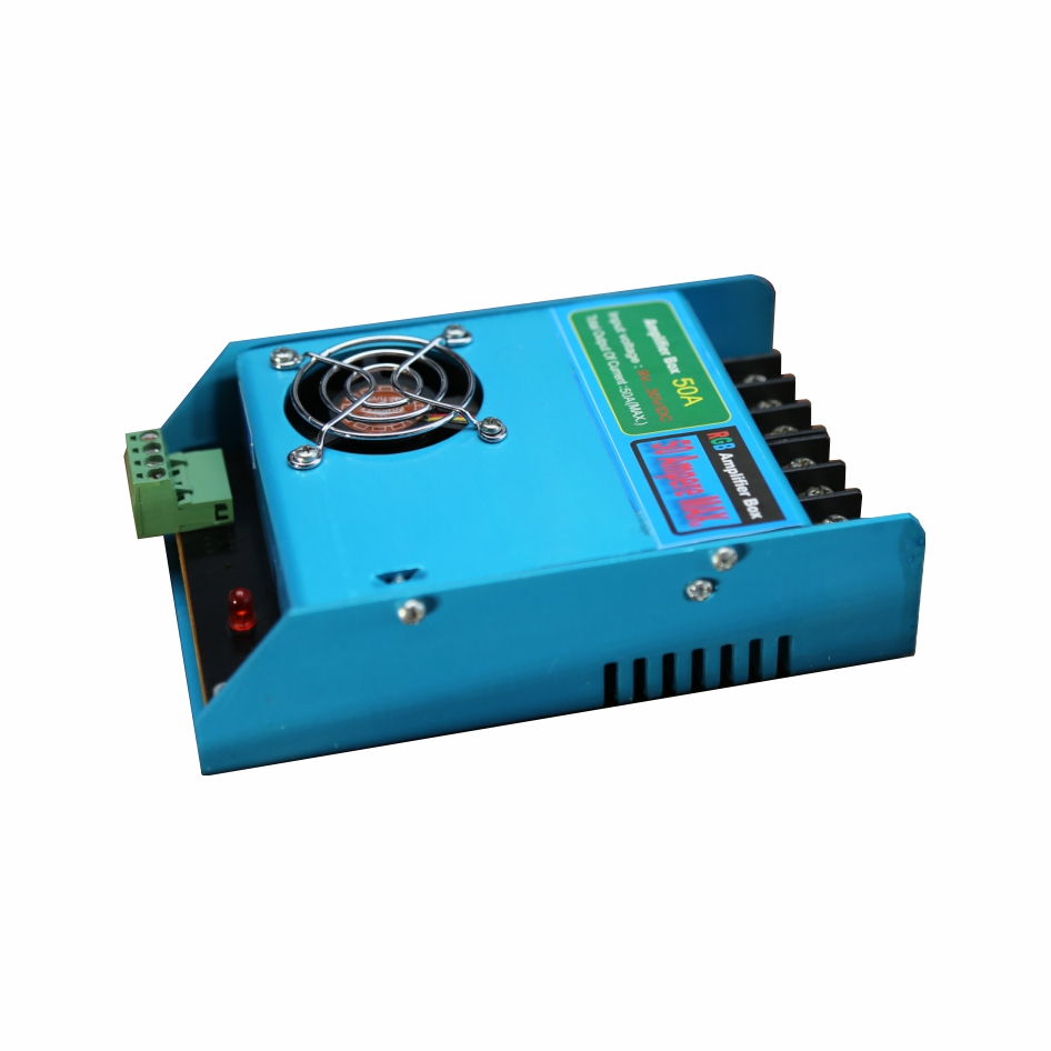 تصویر از تقویت کننده درایورRGB (آمپلی فایر ) 50 آمپر